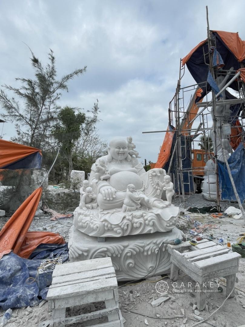 Phật di lặc lục tặc, tượng phật phong thủy đá, tượng phật đá phong thủy, tượng phật bà quan âm bằng đá thạch anh, tượng phật bằng đá thạch anh, tượng di lặc đá thạch anh
